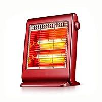 DGLIYJ ホームヒーター小型電気ヒーター省エネミュート2ファイルの調整600W赤/白 (Color : Red)