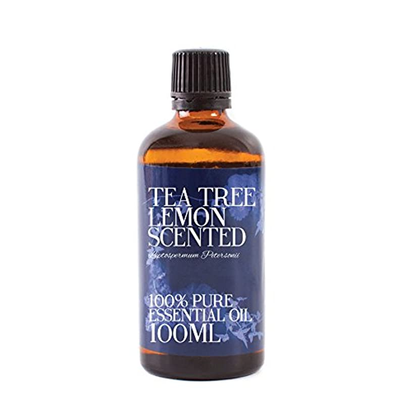 通信網精神的に埋めるMystic Moments | Tea Tree Lemon Scented Essential Oil - 100ml - 100% Pure