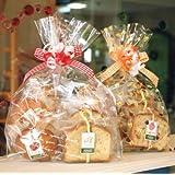 焼き菓子ギフトバッグ~和歌山産フルーツを焼き込んだ焼き菓子7個(パウンドケーキ,マドレーヌ,カップケーキ)入り(リボンラッピング込み・送料別)