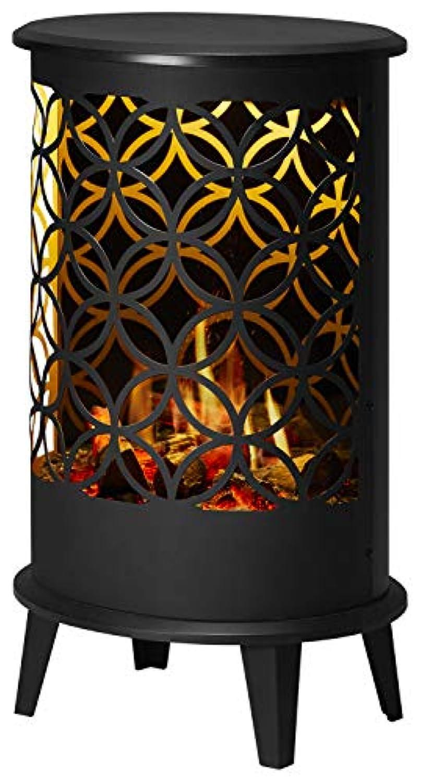 ディンプレックス 電気暖炉(暖房機能無し) セリーニ フラワーオブライフ ブラック CLN28FBJ