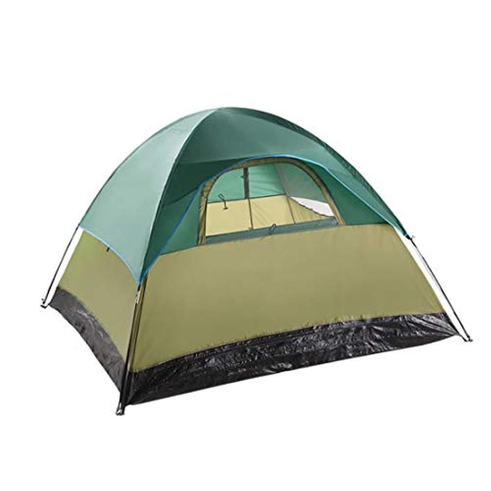落花生哲学博士恥ずかしさ屋外のキャンプのためのMHKBD-JP 3人そして4人のテント キャンプテント (色 : オレンジ)