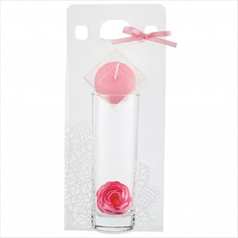 ましい苦伝統的kameyama candle(カメヤマキャンドル) ラナンキュラスセット 「 ピンク 」 キャンドル ギフトセット(A7620020PK)