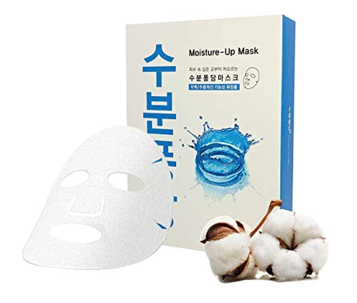 列挙するシミュレートする減少[アンサー ナインティーン+] 保湿シートマスク 超保湿成分配合 - 17のアミノ酸混合体 (N.M.F. (天然保湿因子))、ヒアルロン酸、スイレンエキス、24ml/0.8液量オンス 10点パック