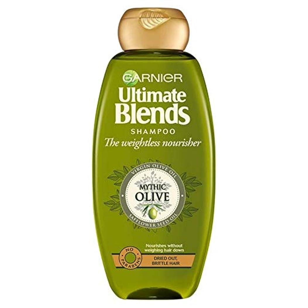 爆発物突撃農学[Garnier ] ガルニエ究極のオリーブオイルドライヘアシャンプー360ミリリットルをブレンド - Garnier Ultimate Blends Olive Oil Dry Hair Shampoo 360ml [並行輸入品]