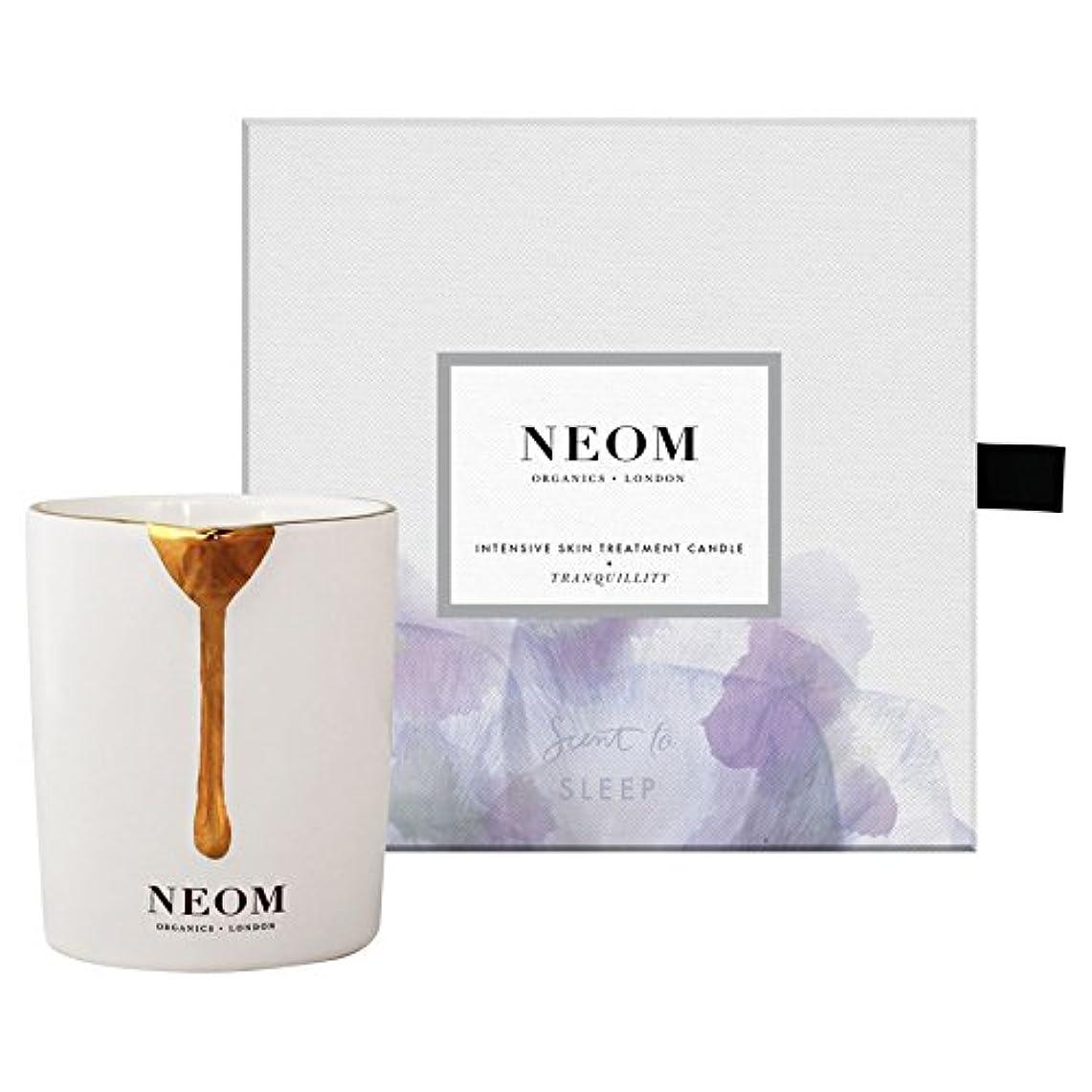 ジェット刺繍リング[Neom] Neom静けさのスキントリートメントキャンドル - Neom Tranquility Skin Treatment Candle [並行輸入品]