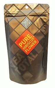 Tea total (ティートータル) / ハイビスカスティー 100g入り袋タイプ ニュージーランド産 (ハーブティー / フレーバーティー  / ノンカフェイン) 【並行輸入品】