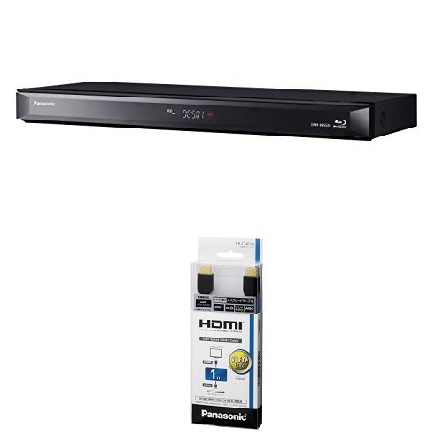 パナソニック 500GB 1チューナー ブルーレイレコーダー DIGA DMR-BRS520 + HDMIケーブル 1m ブラック RP-CHE10-K セット