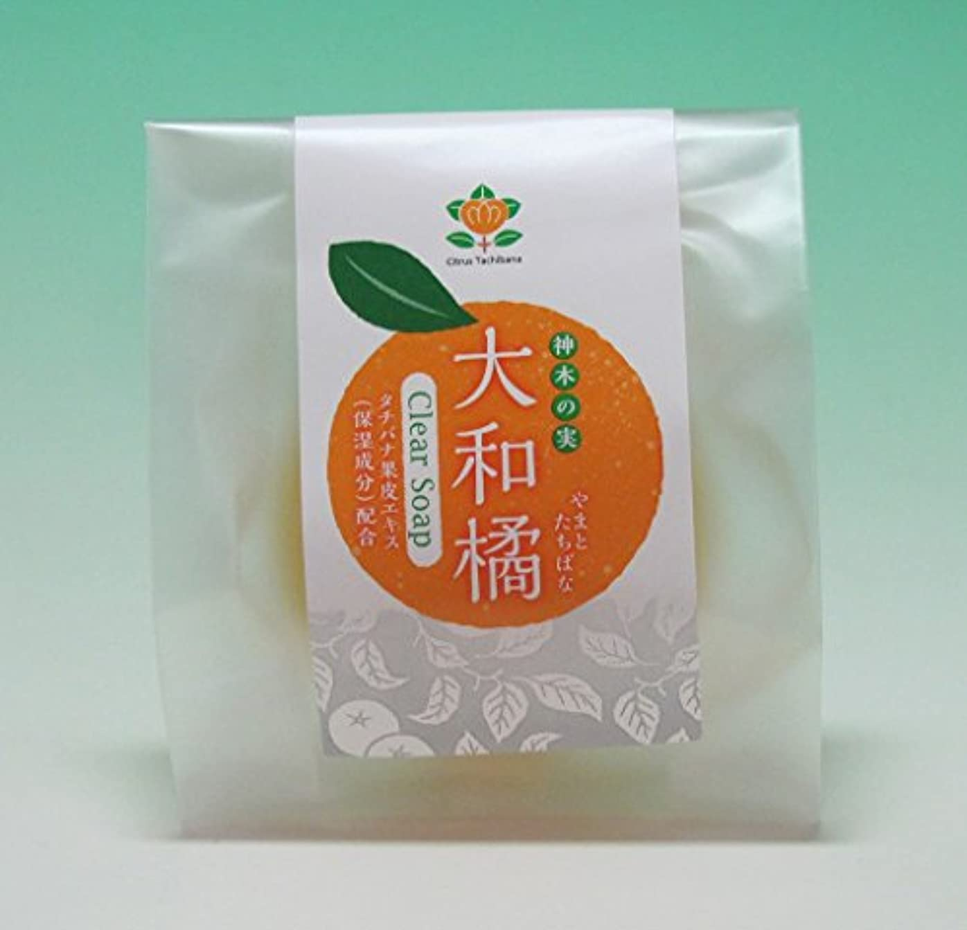 甘美な裁量大腿神木の果実 大和橘枠練石鹸