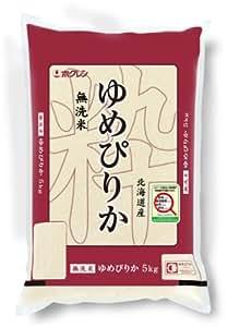 【精米】ホクレン 北海道産 無洗米 ゆめぴりか 5kg 平成28年産