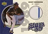 リッキー・ヘンダーソン Rickey Henderson 2002 Upper Deck Authentics Stars of 89 Jersey