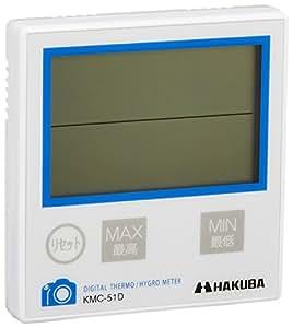HAKUBA 温度計付湿度計 C-51D KMC-51D