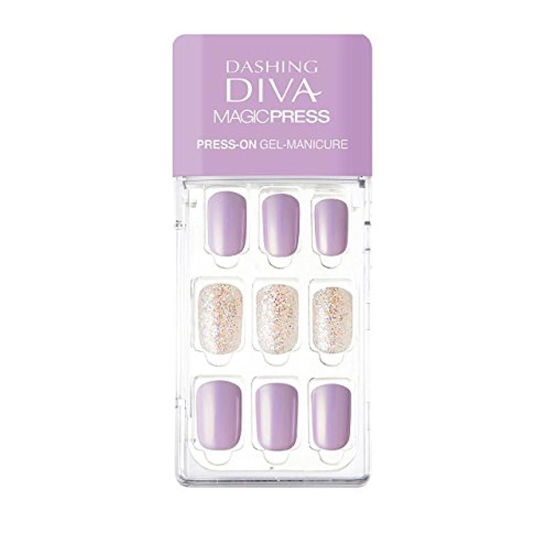お嬢最終的に机ダッシングディバ マジックプレス DASHING DIVA MagicPress MDR139-DURY+ オリジナルジェル ネイルチップ
