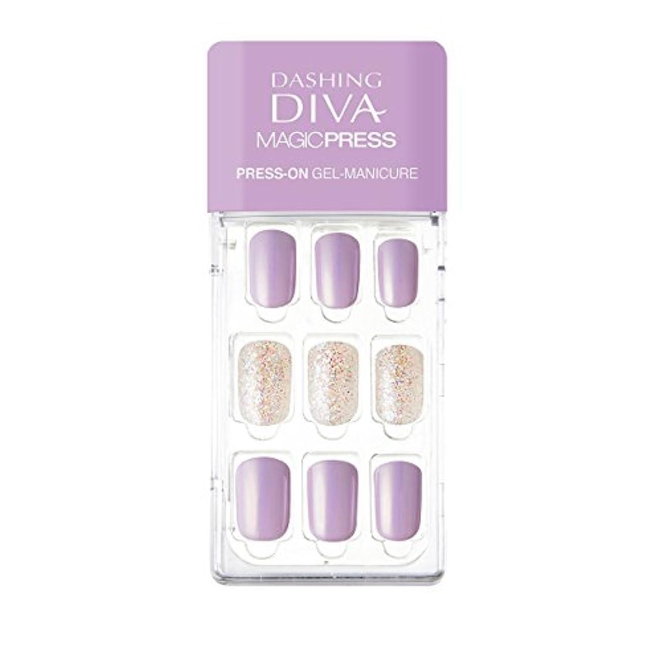 寄付シルエット魅了するダッシングディバ マジックプレス DASHING DIVA MagicPress MDR139-DURY+ オリジナルジェル ネイルチップ