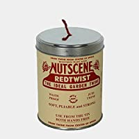 イギリス/Nutscene ナッツシーン|缶入り麻ひも ティン・オー・トワイン/151m レッド