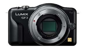パナソニック ミラーレス一眼カメラ LUMIX GF3 ボディ エスプリブラック DMC-GF3-K