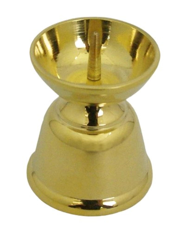 真鍮ダルマ火立 中 3.75cm 10423