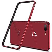 【CASEKOO】iPhone7 Plus ケース アルミバンパー 電波影響無し 衝撃吸収バンパー 二重構造(アルミフレーム/TPU)バンパー ストラップホール付き 軽量 取り出し易い おしゃれ(iPhone 7 Plus,レッド)