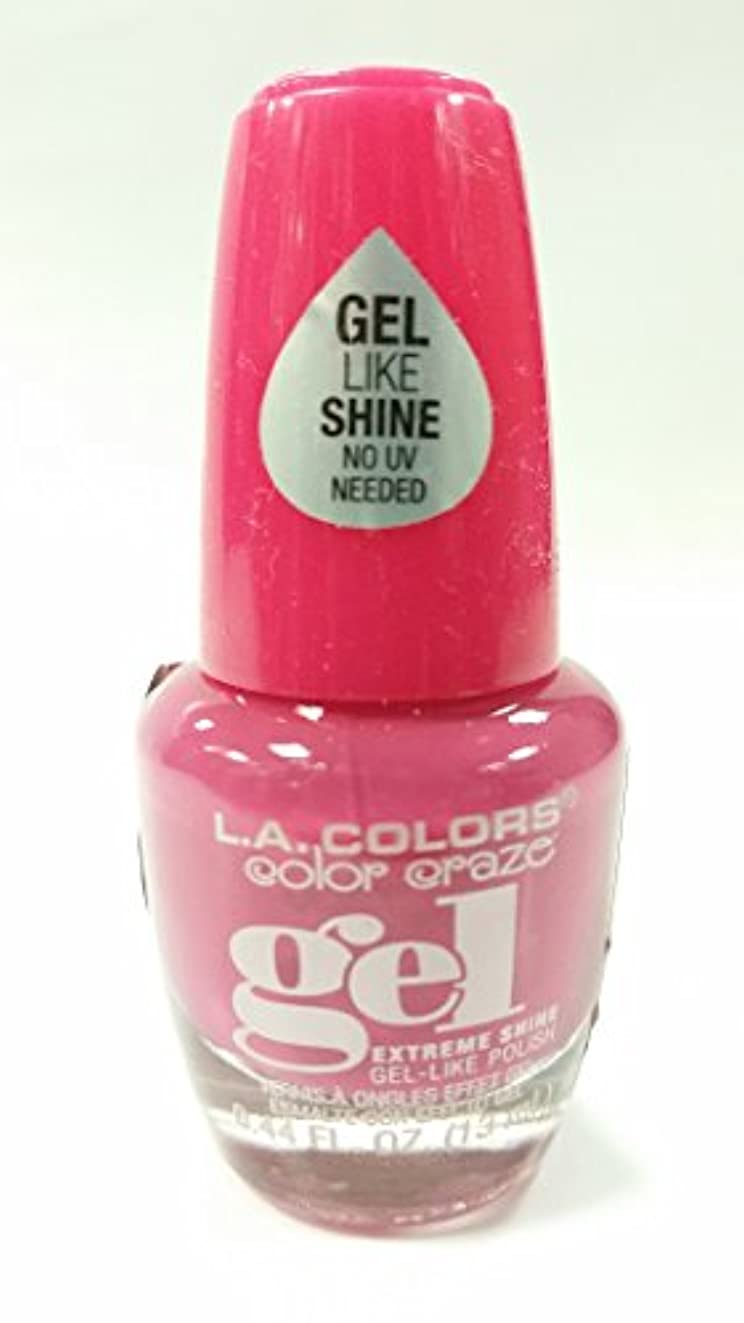 ファイターメンター母LA COLORS Color Craze Gel Polish Socialite (並行輸入品)