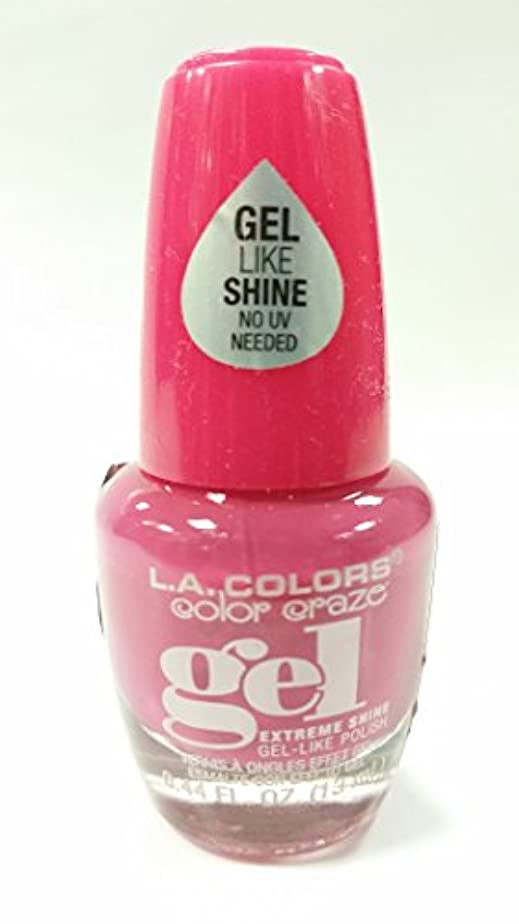 招待施し平等LA COLORS Color Craze Gel Polish Socialite (並行輸入品)