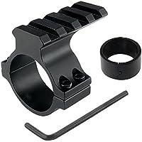Uniquefire ボルトロック マウントベース 25.4 / 30mm対応 トップマウント リング スコープ