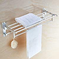 タオル掛け壁掛け式スペースアルミタオル掛けマルチショットドアバスルームキッチンタオル掛け (Size : 300mm)