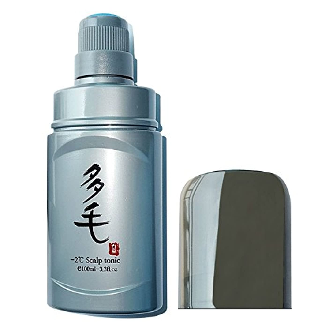 弾力性のある雲南方のヘアロス プリベンションand さいせい フィーバー 除去 in Scalp 100ml スカルプケア Sponge Applicator Bottle -2°C Scalp Tonic Liquid 並行輸入