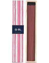 【セット品】かゆらぎ 白桃 スティック40本入 香立付 ×6個