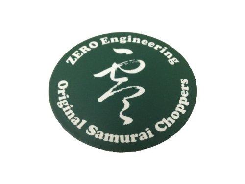 ゼロエンジニアリング(ZERO ENGINEERING) ステッカー 丸型 グリーン 直径62mm ZST-R