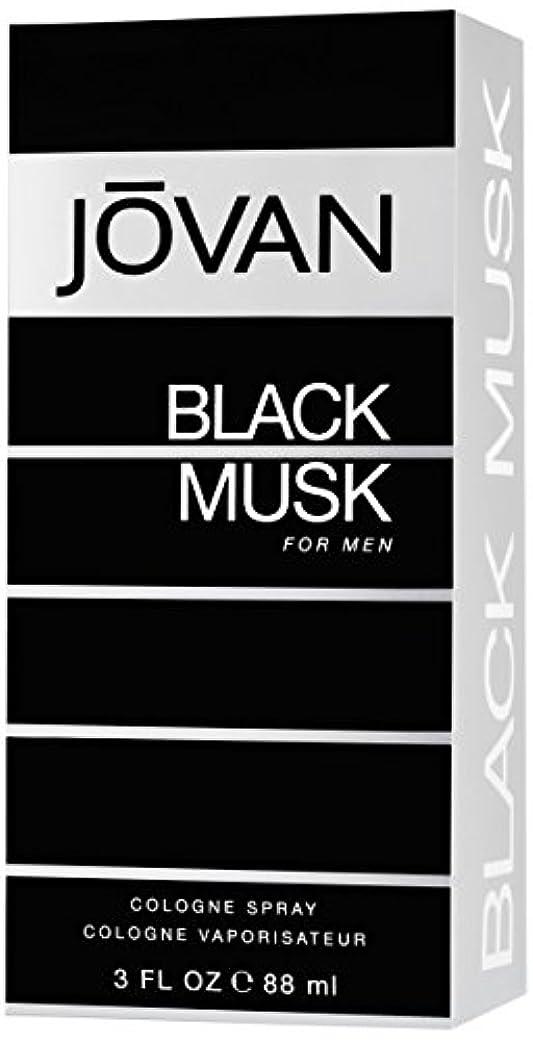 騙す同情叙情的なジョバン[JOVAN]ブラックムスクフォーメンコロンスプレー88ml