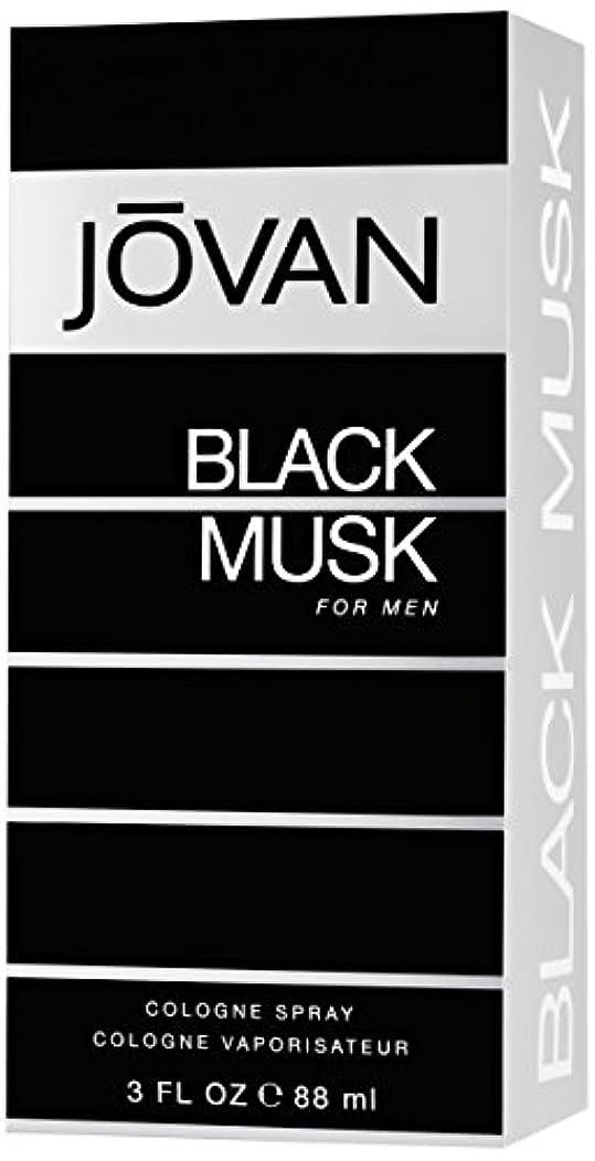 入浴雪だるま珍しいジョバン[JOVAN]ブラックムスクフォーメンコロンスプレー88ml