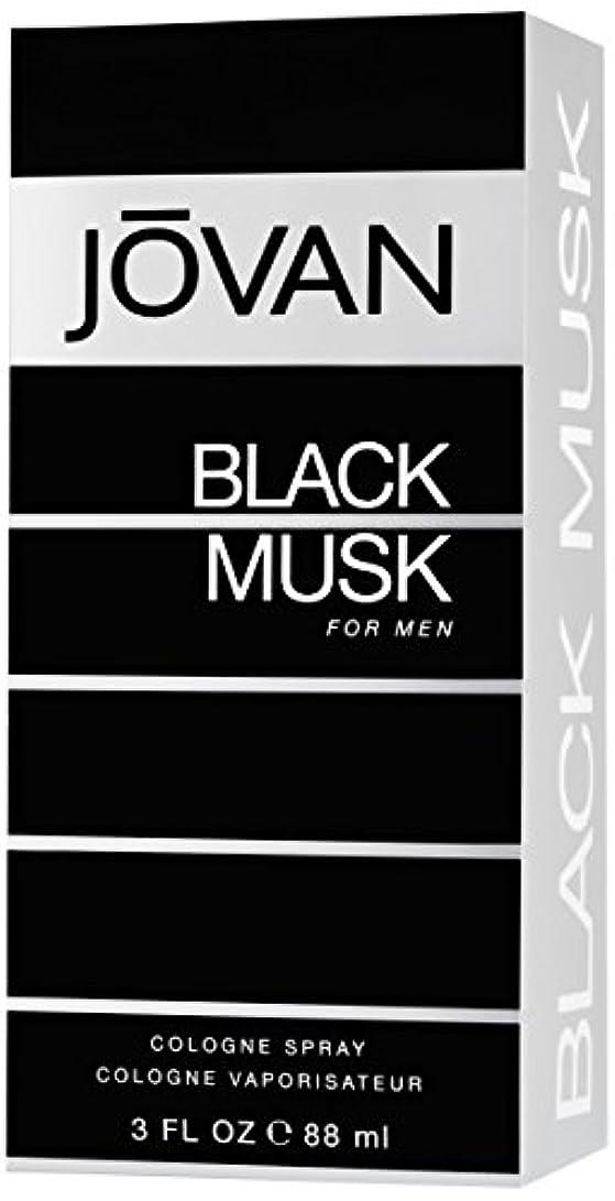 困難周り冷えるジョバン[JOVAN]ブラックムスクフォーメンコロンスプレー88ml
