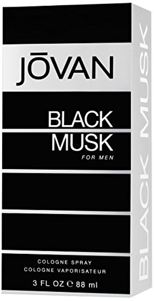 不快なのスコア既にジョバン[JOVAN]ブラックムスクフォーメンコロンスプレー88ml