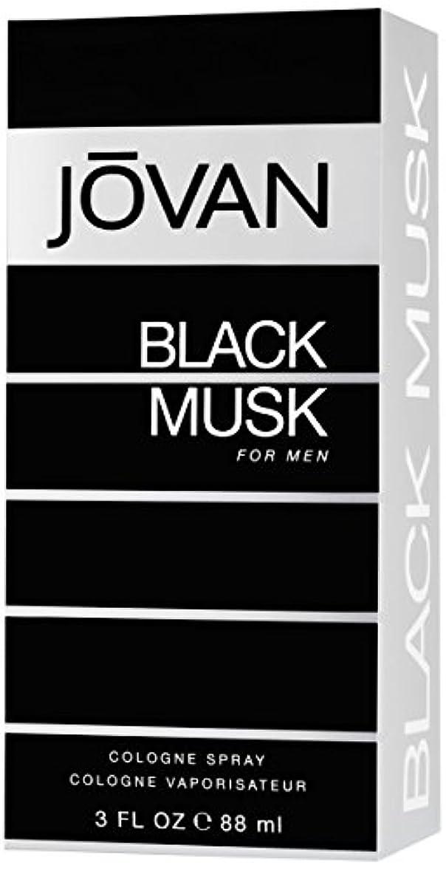 倉庫石油差ジョバン[JOVAN]ブラックムスクフォーメンコロンスプレー88ml