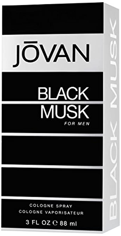 強制的記事植物学ジョバン[JOVAN]ブラックムスクフォーメンコロンスプレー88ml