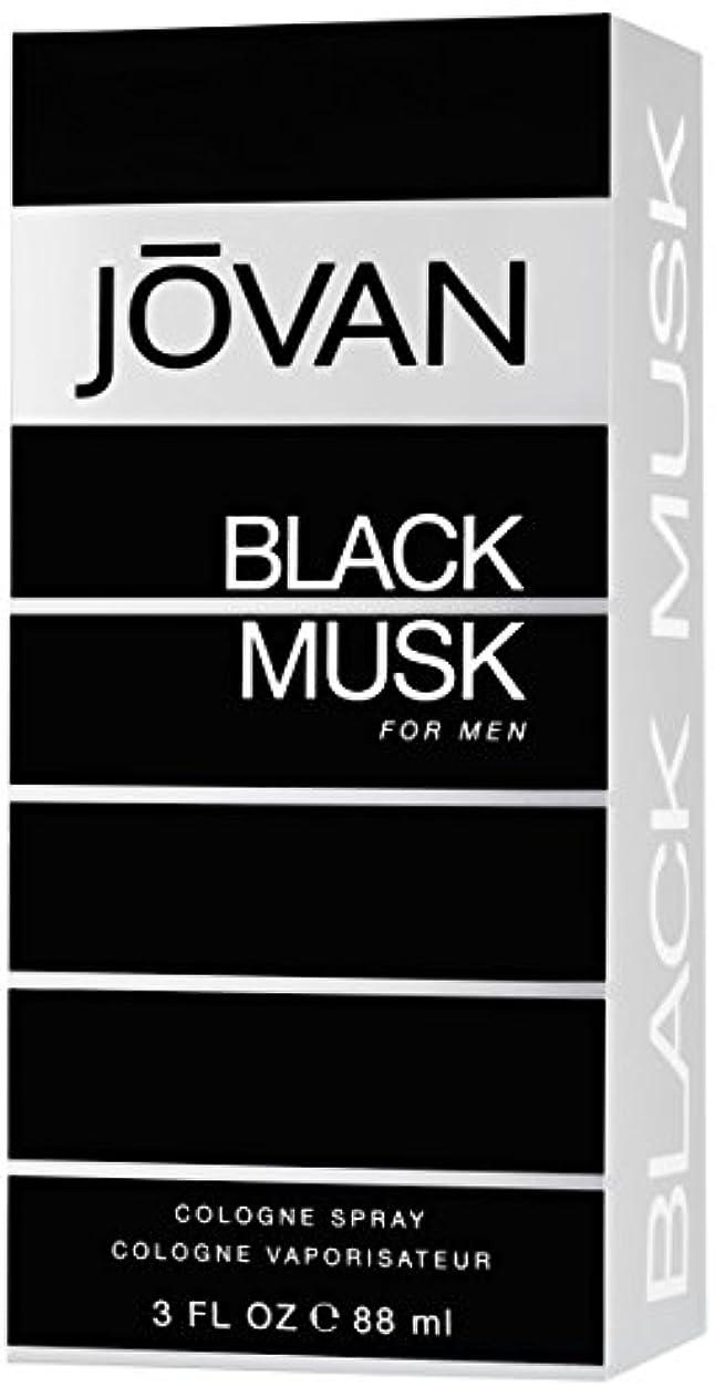 中央値再生ランドマークジョバン[JOVAN]ブラックムスクフォーメンコロンスプレー88ml