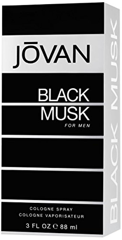 微視的スロープ特異なジョバン[JOVAN]ブラックムスクフォーメンコロンスプレー88ml
