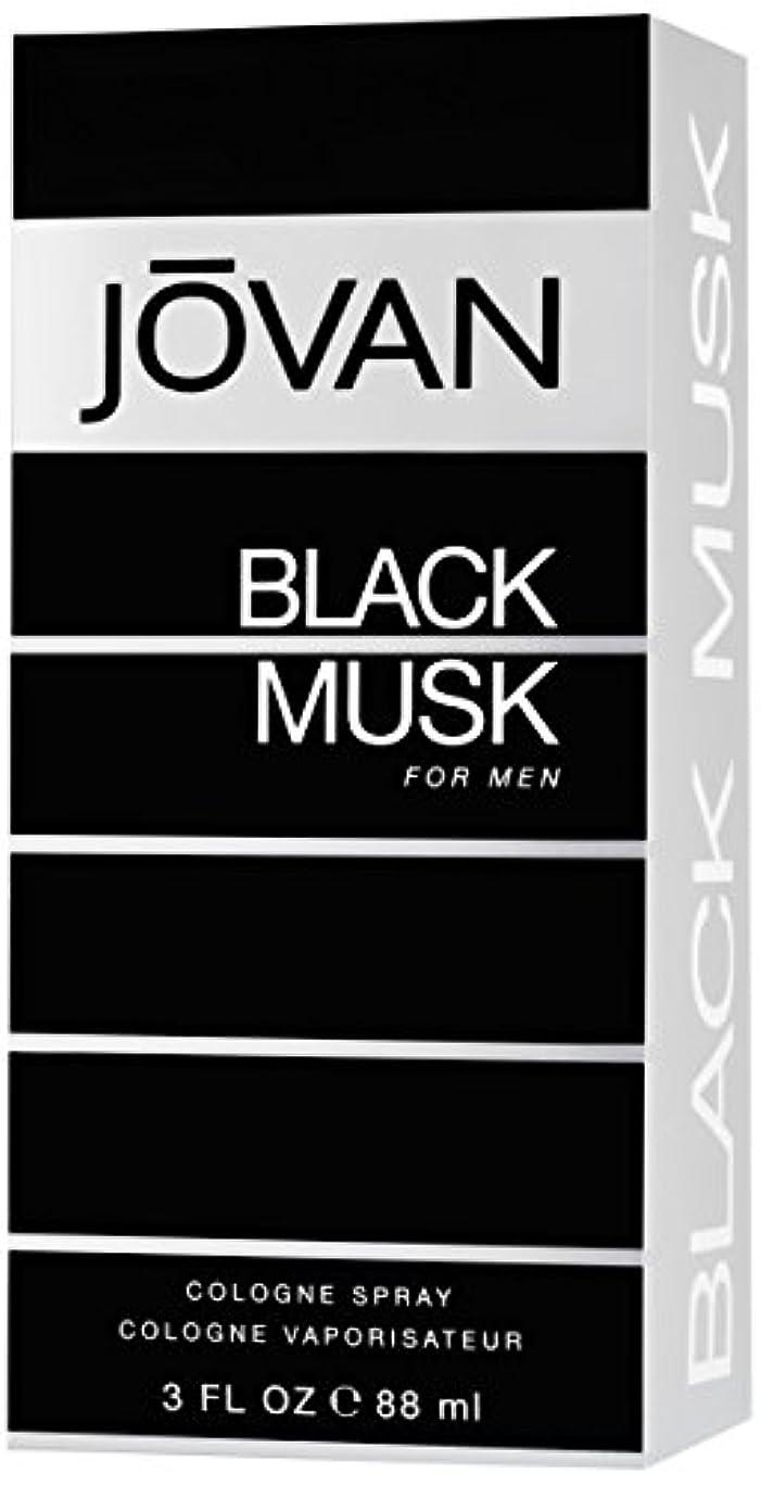 フィッティング日曜日放映ジョバン[JOVAN]ブラックムスクフォーメンコロンスプレー88ml