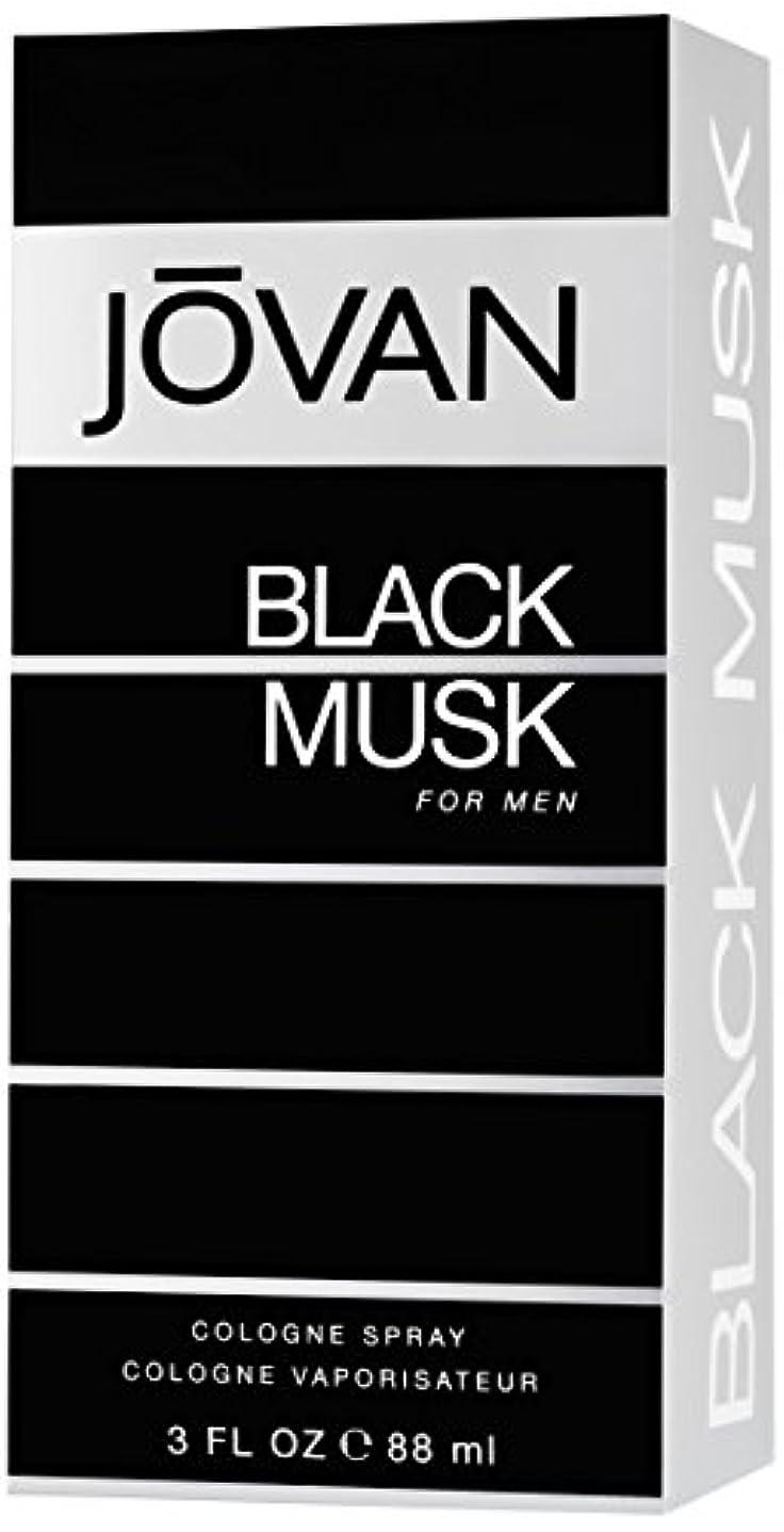 規則性広々過敏なジョバン[JOVAN]ブラックムスクフォーメンコロンスプレー88ml