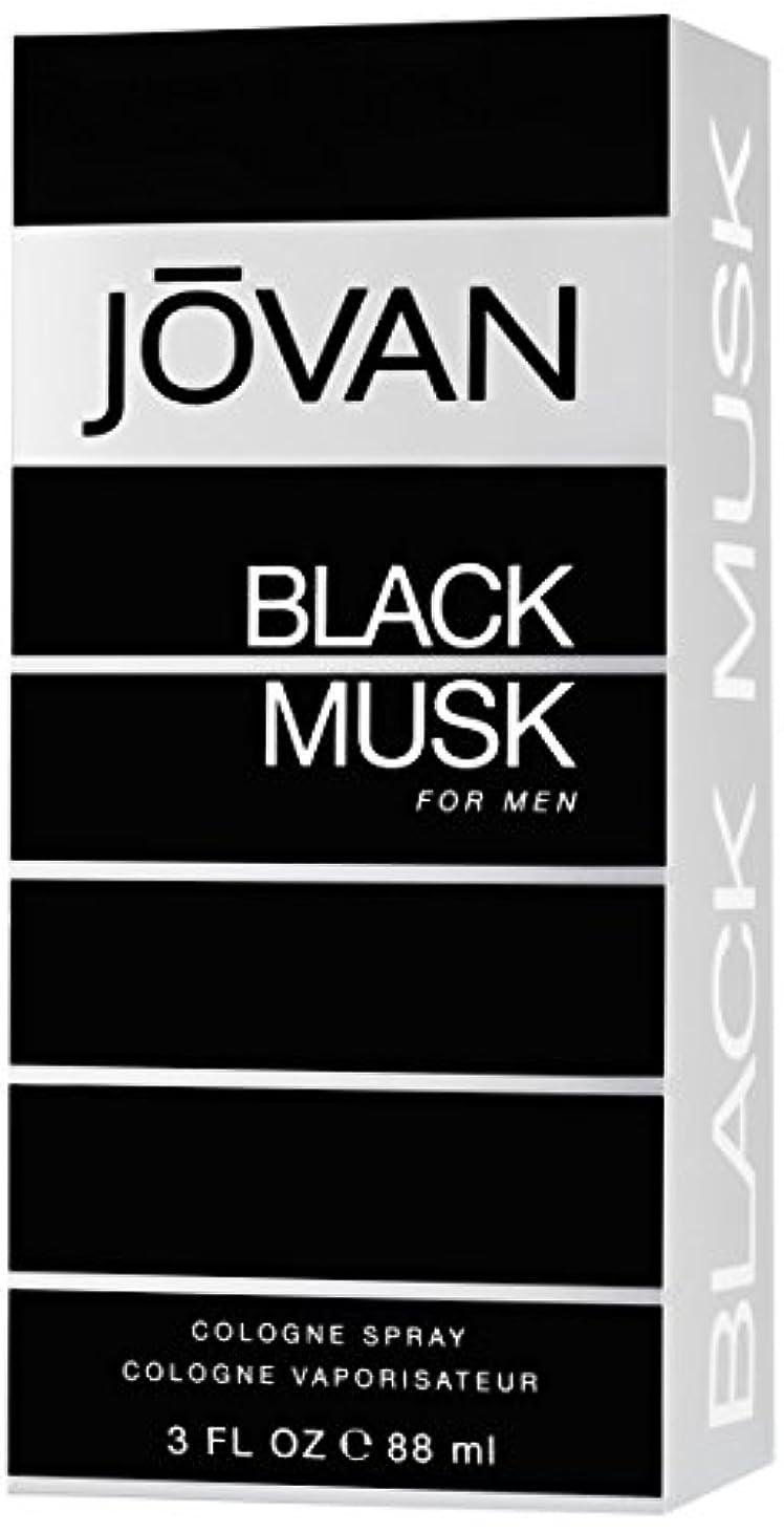 記憶に残る血まみれ快適ジョバン[JOVAN]ブラックムスクフォーメンコロンスプレー88ml
