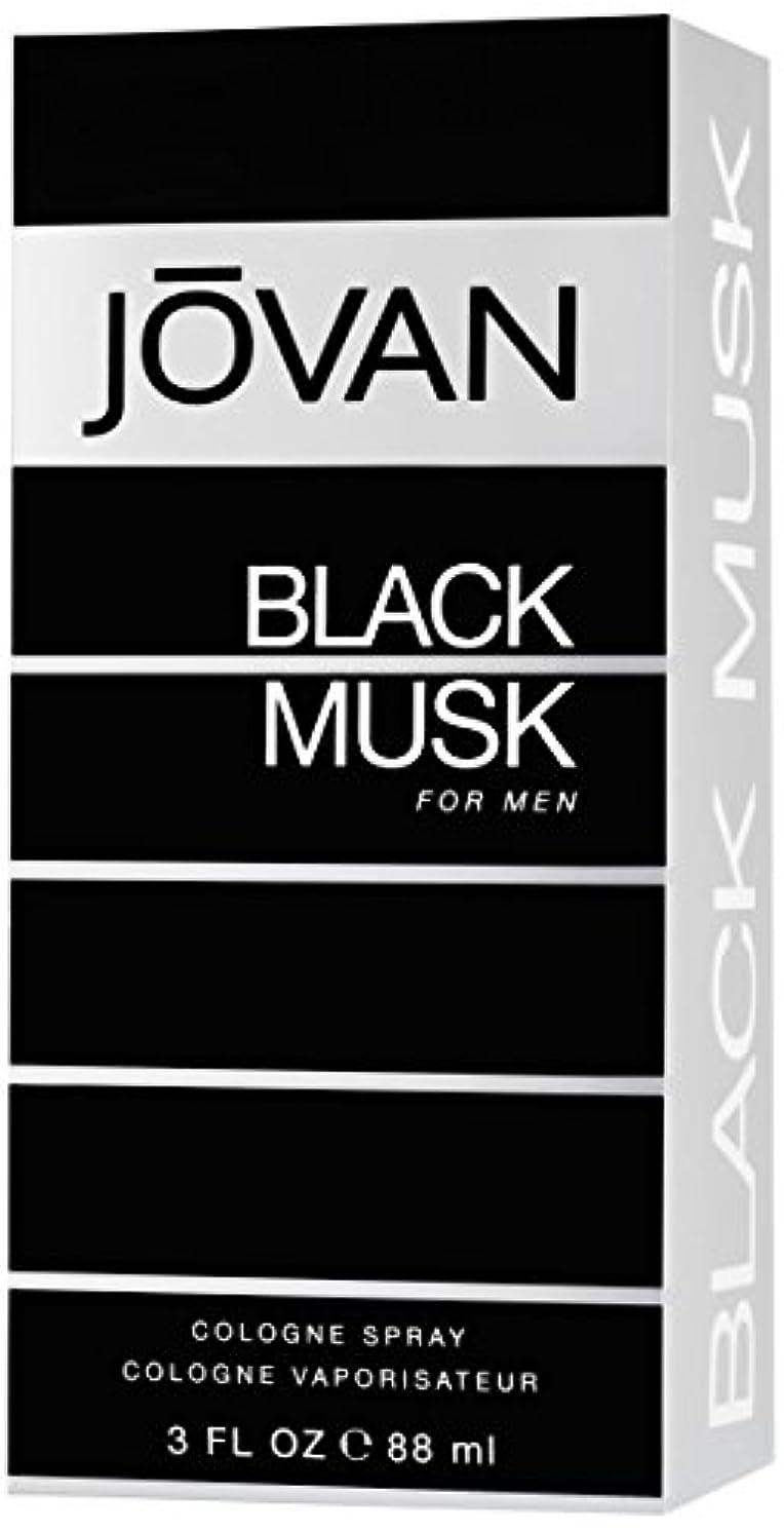 ブルパトロール断線ジョバン[JOVAN]ブラックムスクフォーメンコロンスプレー88ml