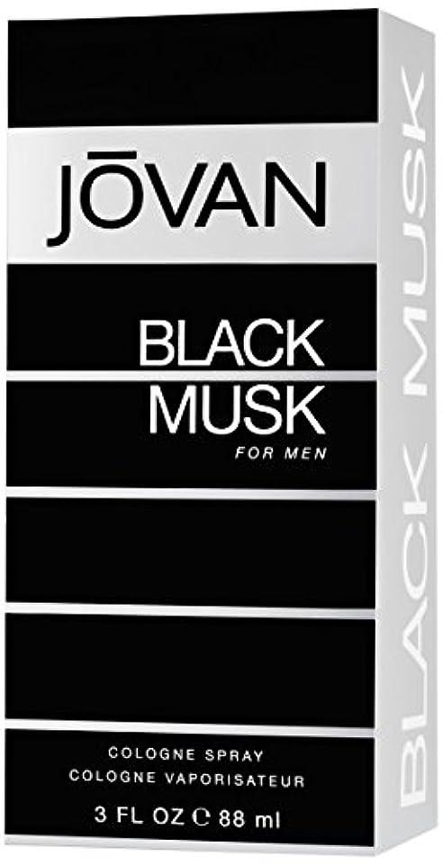 腹部一貫性のない倫理ジョバン[JOVAN]ブラックムスクフォーメンコロンスプレー88ml