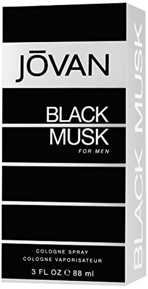 摩擦尽きる取得ジョバン[JOVAN]ブラックムスクフォーメンコロンスプレー88ml