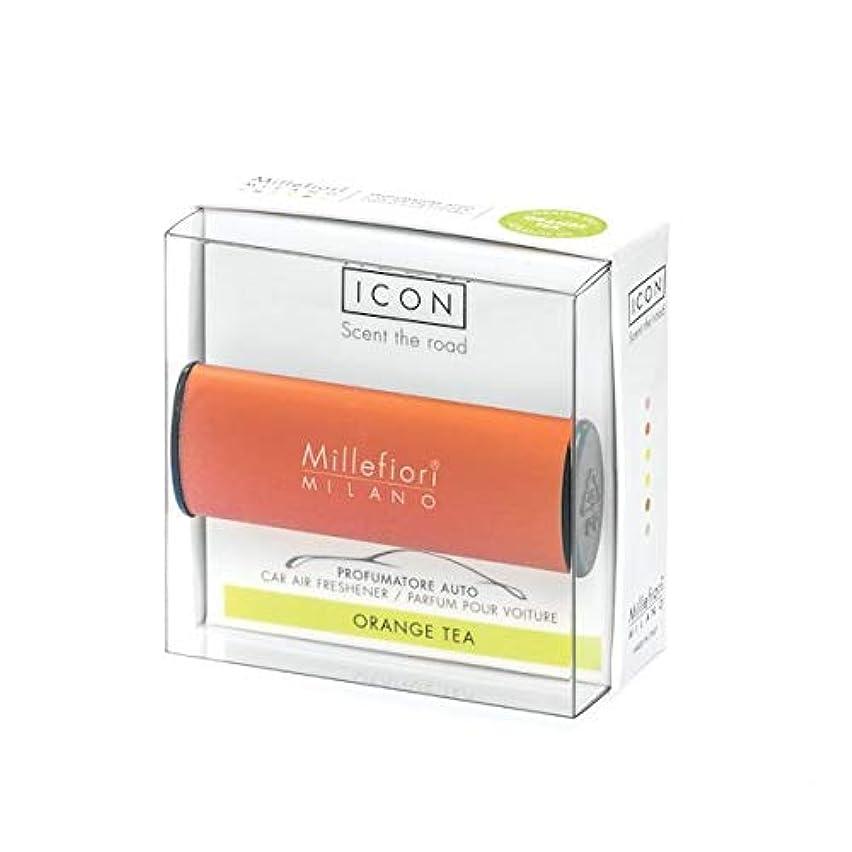 たとえテープ関係ミッレフィオーリ(Millefiori) カーエアフレッシュナー ICON CLASSIC ORANGE - オレンジティー(ORANGE TEA) [並行輸入品]
