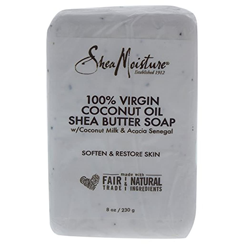 ボーカル置き場脇にShea Moisture バーソープ (100% Virgin Coconut Oil Shea Butter Soap)