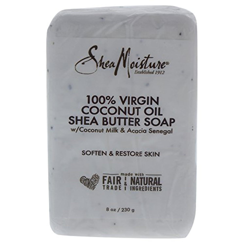 うまイベント夜明けShea Moisture バーソープ (100% Virgin Coconut Oil Shea Butter Soap)