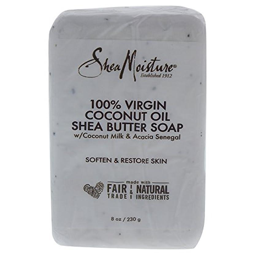 それに応じて上陸トランクShea Moisture バーソープ (100% Virgin Coconut Oil Shea Butter Soap)