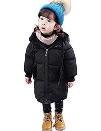 c6320741614de Amazon.co.jp  ブラック - コート・ジャケット   ガールズ  服 ...