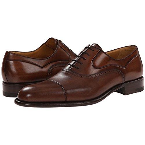 (ア テストーニ) a. testoni メンズ シューズ・靴 オックスフォード Black Label Washed Calf Oxford with Cap Toe 並行輸入品