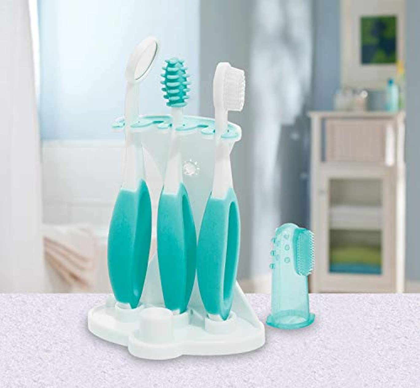 メイド哲学者泥だらけSummer Infant, Oral Care Kit, 5 Piece Kit