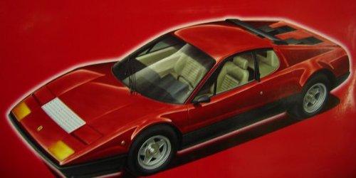 フジミ模型 1/24 FRシリーズNo.6 フェラーリ512BB グレードアップパーツ付き